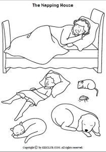 napping house visuals
